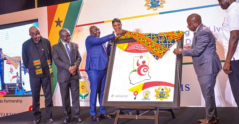 Bawumia Launches First Public-Private Sickle Cell Partnership In Ghana, Africa
