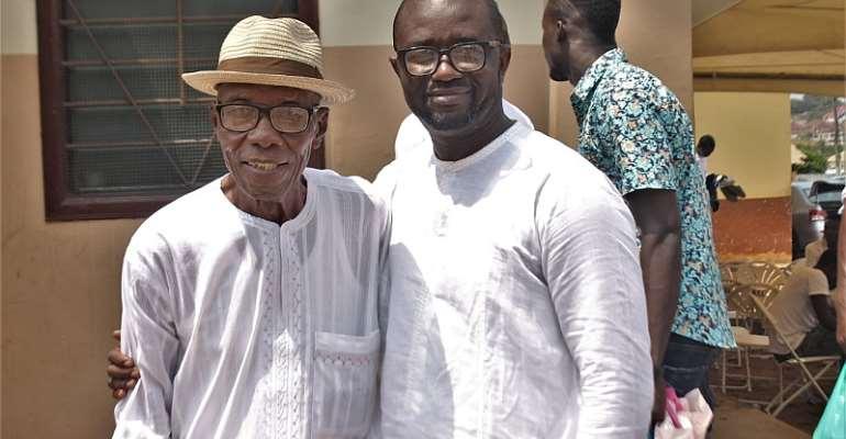 My Father Wept After Winning Ghana FA Presidential Race - Kurt Okraku