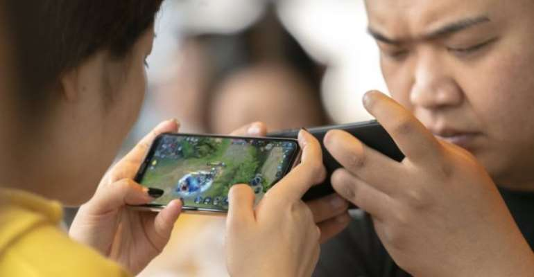 China began regulating the gaming industry to address a rise in near-sightedness among children - GETTY IMAGES