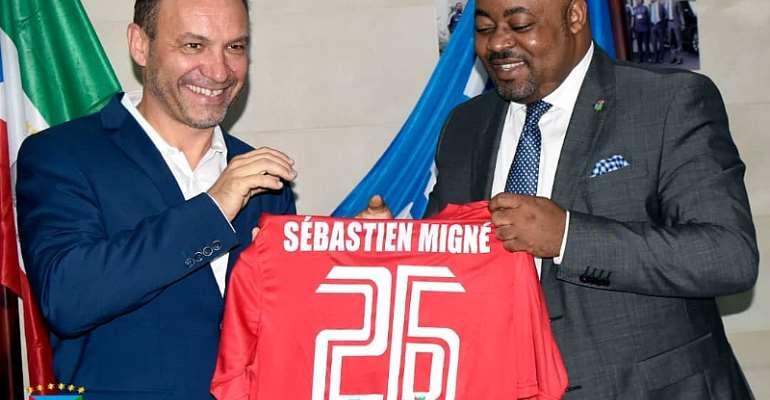 Equatorial Guinea Appoint Sebastien Migne As New Head Coach