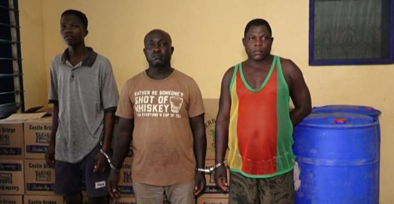 Fake GIHOC Syndicate Busted At Nungua