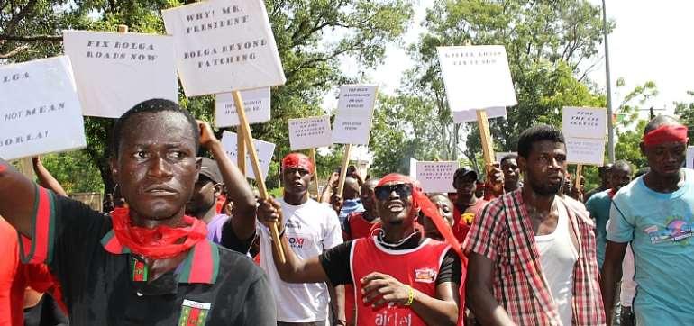 U/E: Group Gives Gov't Two Weeks To Fix Bawku-Bolga Road