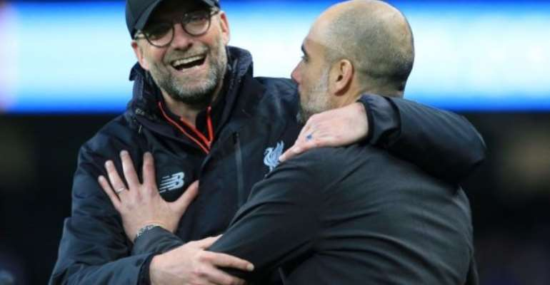 Guardiola Is The Best Manager In The World, Says Klopp