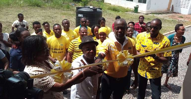 MTN Commissions New Dormitory For Youth Training Center AT WAG