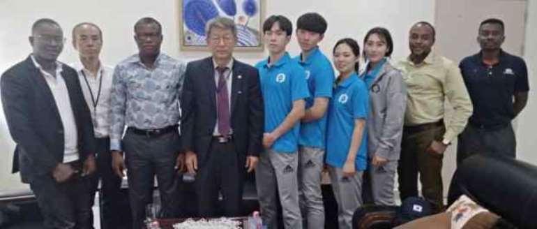 Ghana Taekwondo introduces World Taekwondo Peace Corps to Korean Ambassador, GOC & Others