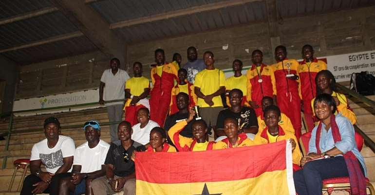 Ghana Team Places Second At African Junior Championship In Togo