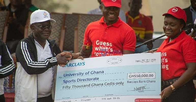Barclays Ghana Supports GUSA 2020 Games