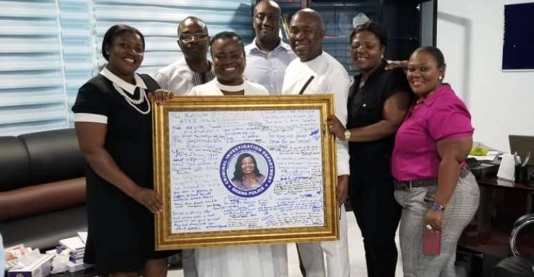 Tiwaa Receives Befitting Exit At Send Off Ceremony