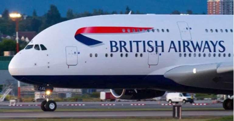 A BA aircraft