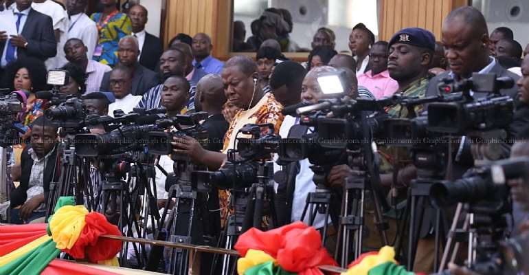 Ghanaian Journalists And The Anti-Galamsey Campaign