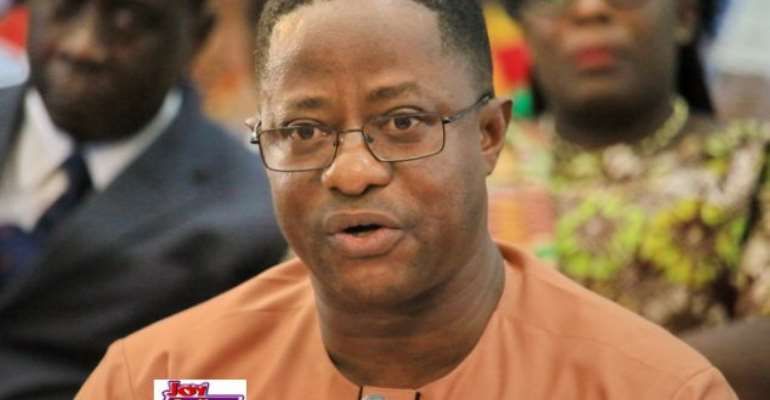 John Peter Amewu is Energy Minister