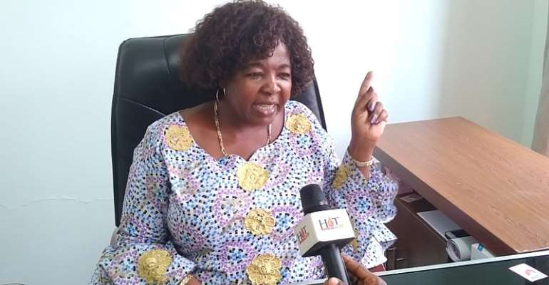 The Chairperson of the Convention People's Party (CPP), Nana Akosua Frimpomaa