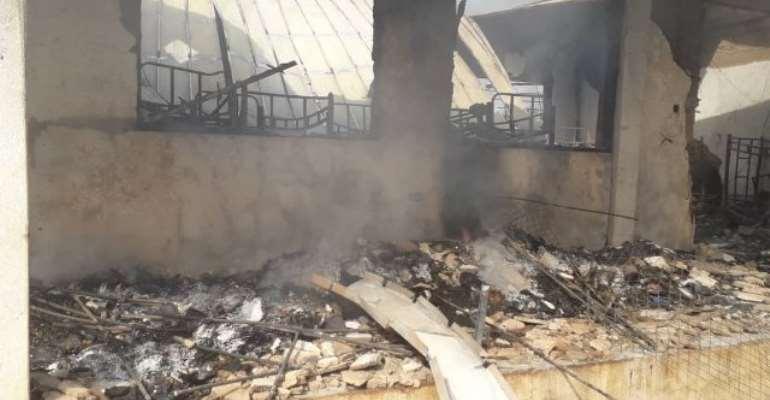 Fire Wreaks Havoc At Wa Islamic SHS