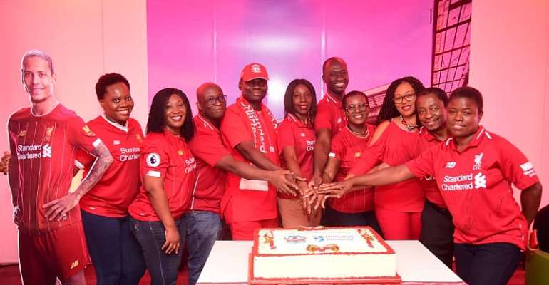 Standard Chartered Is Proud To #StandRed With Liverpool FC For 10 Years