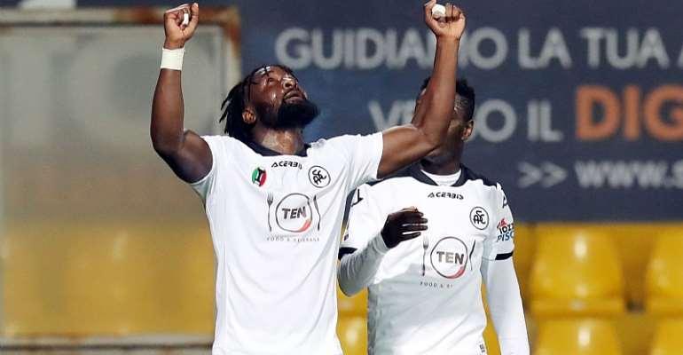 Emmanuel Gyasi Provides Assist In Spezia's 3-0 Win At Benevento
