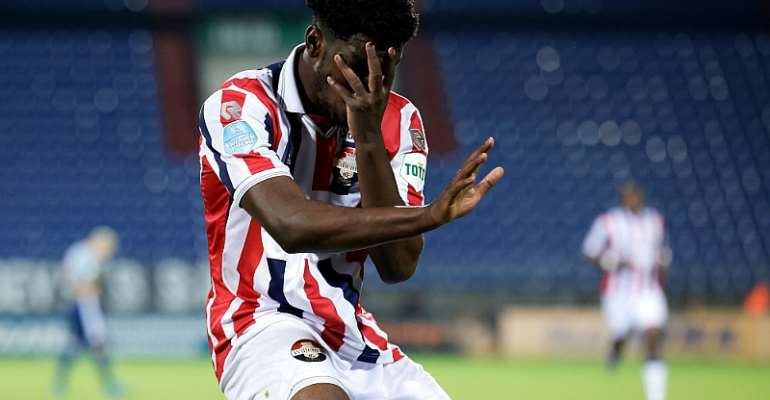 Striker Kwasi Okyere-Wriedt nets crucial goal to earn draw for Willem II against Waalwijk