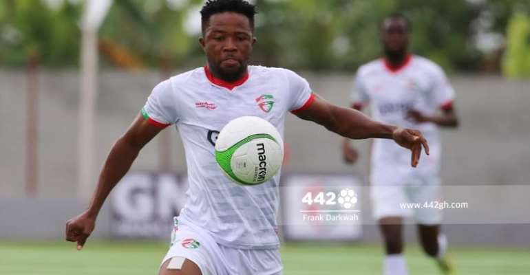 GHPL: Diawisie Taylor bags brace as Karela United thump Berekum Chelsea 4-1