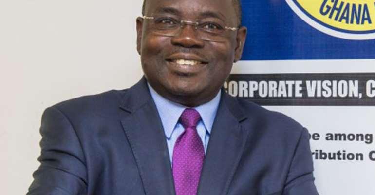 The MD of ECG, Ing Samuel Boakye Appiah