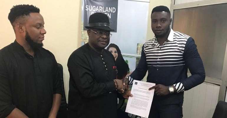 Top Nigerian model Ifezue Emmanuel signed as Sugarland Villa Real Estate Ambassador