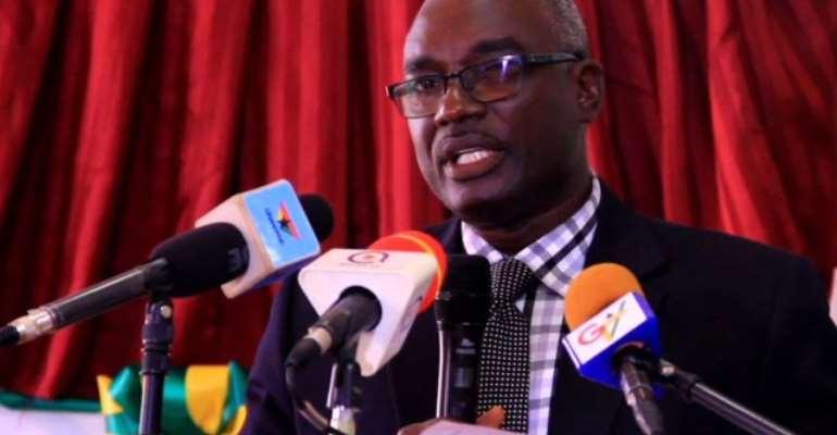Dr Kodjo Mensah-Abrampah, Director General of the National Development Planning Commission