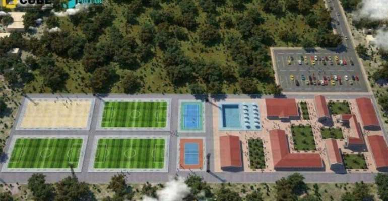 Hearts To Cut Sod For Construction Of Pobiman Academy on November 11