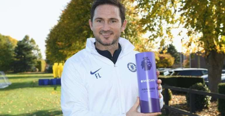 Frank Lampard Wins Manager Of The Month Award For October