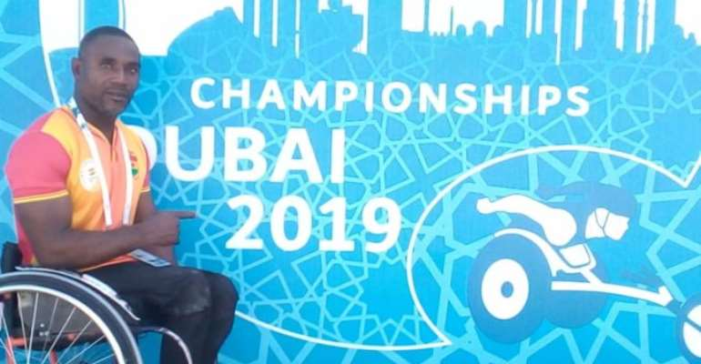 Botsyo Nkegbe Qualifies For Semi Final At 2019 World Para Athletics Championships In UAE