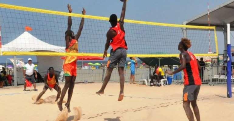 Carboo Beach Volleyball Tournament On November 9th At Nungua Sango Beach Resort