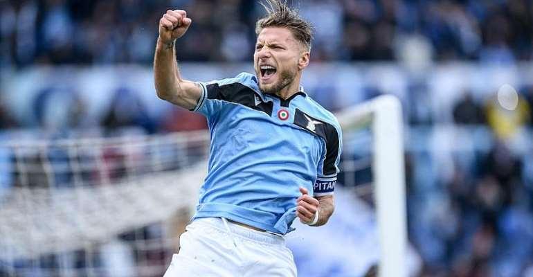 Serie A: Immobile Hits Hat-Trick As Lazio Crush Sampdoria