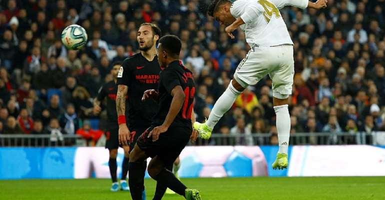 La Liga: Casemiro At The Double As Real See Off Sevilla