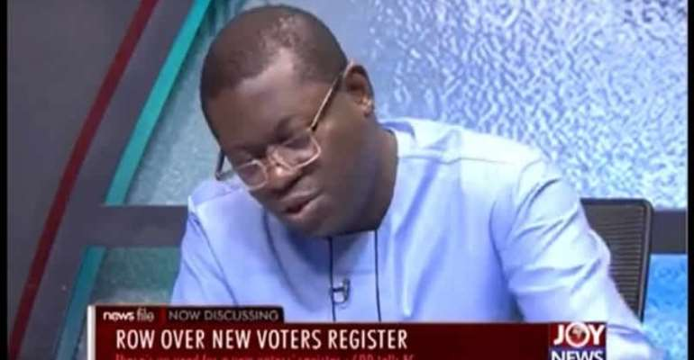 New Register: Bright Simons Challenges EC With 4 Arguments