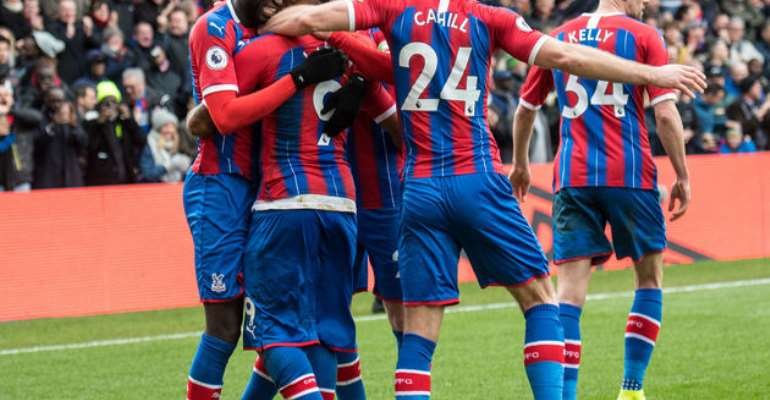 Ayew Lasts 90 Minutes As Crystal Palace Draw 2-2 With Manchester City