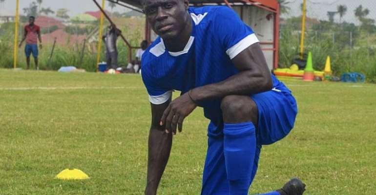 Kotoko striker Kwame Opoku
