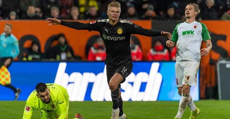 Bundesliga: Haaland Sparkles With Hat-Trick On Dortmund Debut