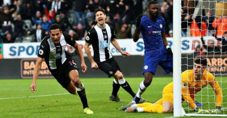 PL: Chelsea Rocked As Hayden's Late Strike Lifts Newcastle