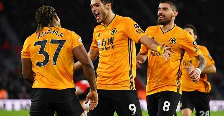 PL: Wolves Seal Comeback Win At Southampton