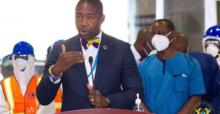 Okoe Boye reveals a possible reduction in COVID-19 test fee at KIA