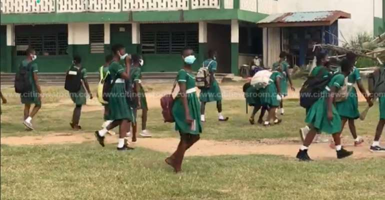 Pupils return to school amid COVID-19 safety protocols