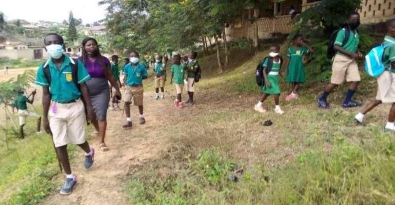 Covid-19: Students in Sekondi-Takoradi go back to school amid mixed feelings