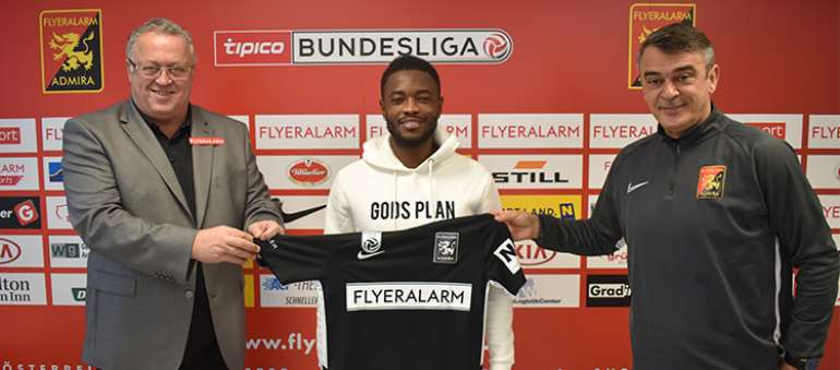 Ghanaian winger David Atanga joins FC Admira Wacker on loan