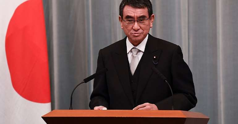 Taro Kono acknowledged the uncertainty lingering over the Tokyo 2020 Olympic Games ©Getty Images