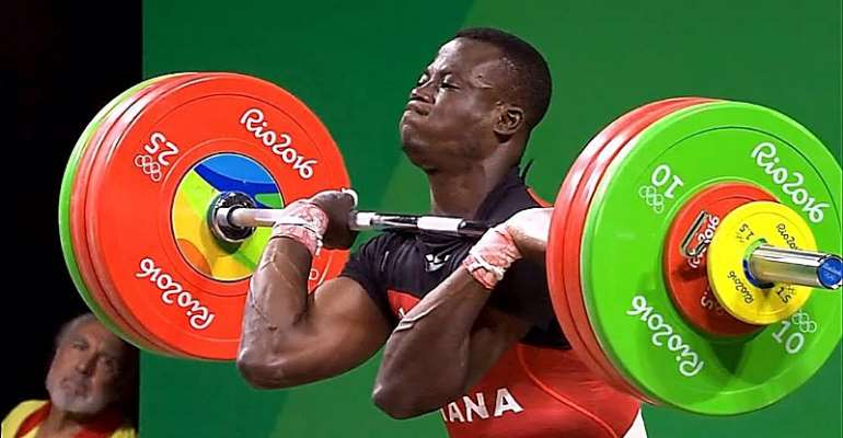 Ghanaian Weightlifter Christian Amoah – Ranked 4th on the Commonwealth Games List of 25