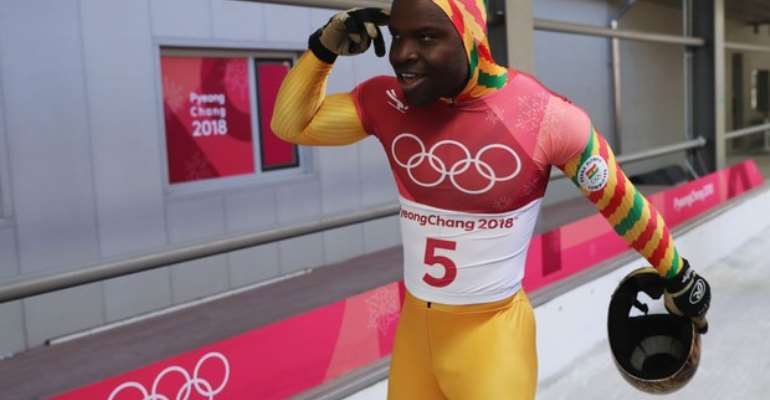 Akwasi Frimpong makes the finals in IBSF Inter Continental Cup after setting personal best time