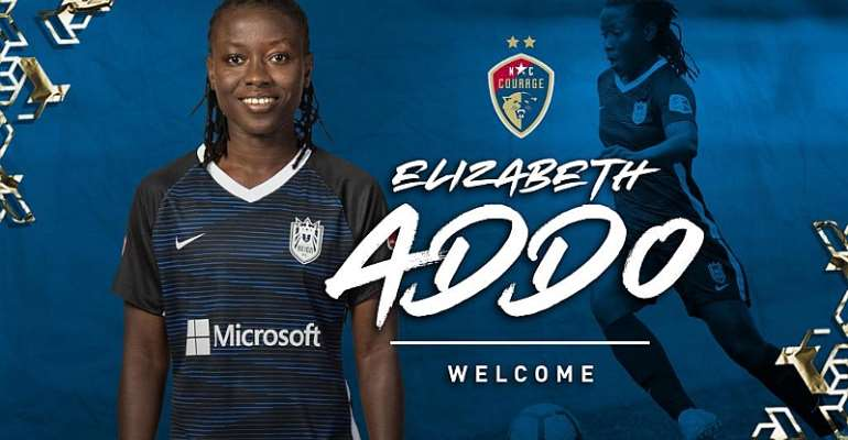 Ghana's Elizabeth Addo joins American club NC Courage on a one-year deal