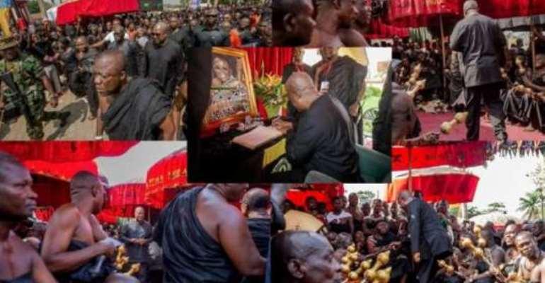 Former President Mahama eulogies Asantehemaa