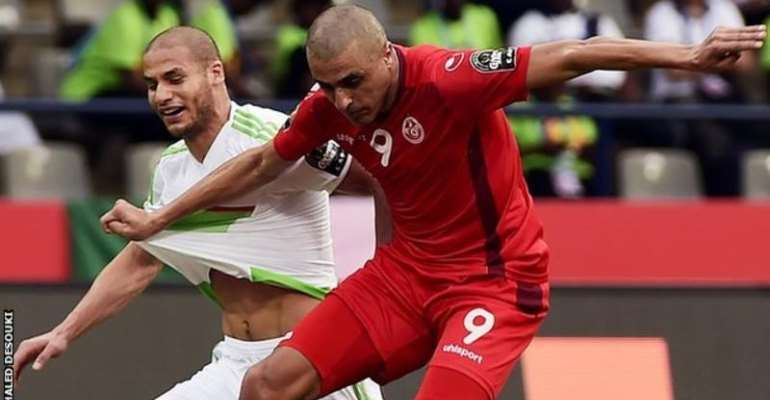 AFCON 2017: Tunisia sees off neighbours Algeria in 2-1 win
