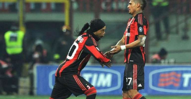 Kevin-Prince Boateng Hails Ronaldinho As Football All-Time 'BEST'