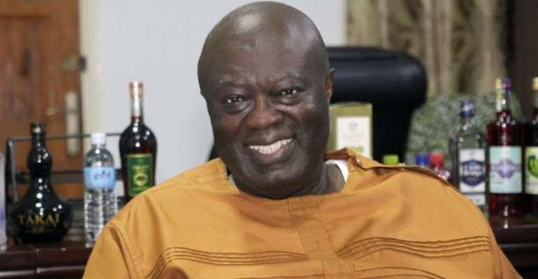 Managing Director of GIHOC Distilleries, Maxwell Kofi Jumah