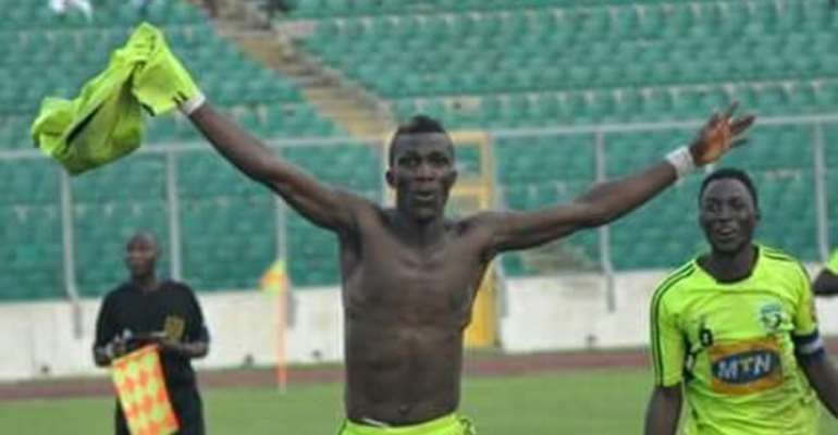 'I Will Score Against Kotoko' - New Hearts of Oak Striker Abednego Tetteh