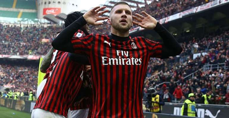 Serie A: Rebic Brace Snatches Late Win For AC Milan